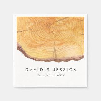 Bos Ringen   Douane van het Huwelijk Papieren Servet