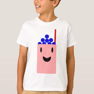 Bosbes Smoothie die Gelukkig is T Shirt