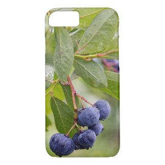 bosbessen op struik iPhone 7 hoesje