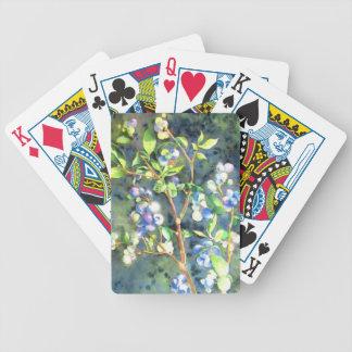 Bosbessen Poker Kaarten