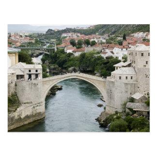 Bosnia-Hercegovina - Mostar. De oude Brug Briefkaart