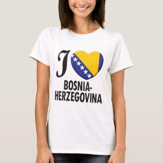 Bosnia - van Herzegovina Liefde T Shirt