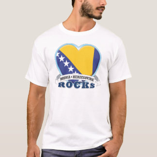 Bosnia & van Herzegovina Rotsen T Shirt