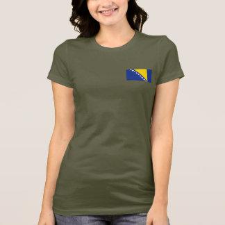 Bosnia - van Herzegovina Vlag en DKT-shirt van de T Shirt