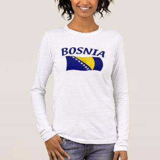 Bosnia Vlag T Shirts