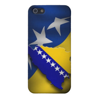 Bosnische Vlag iPhone 5 Cases