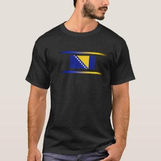 Bosnische Vlag met de Lichten van het Spectrum T Shirt
