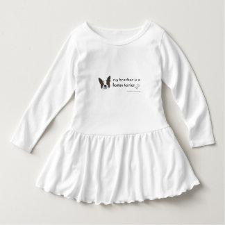Boston (bruine) terriër - meer rassen baby jurk