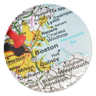 Boston, Massachusetts Melamine+bord