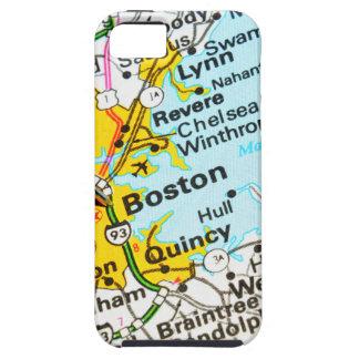 Boston, Massachusetts Tough iPhone 5 Hoesje