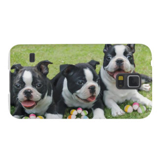 Boston Terriers van Pasen Galaxy S5 Hoesje