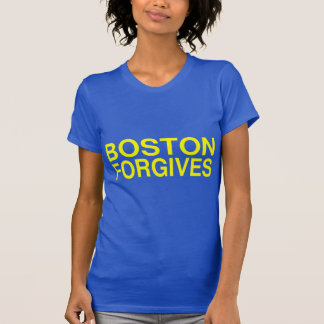 Boston vergeeft t shirt
