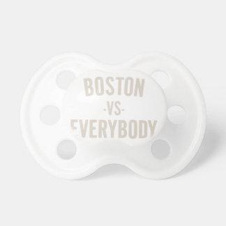 Boston versus iedereen fopspeentje