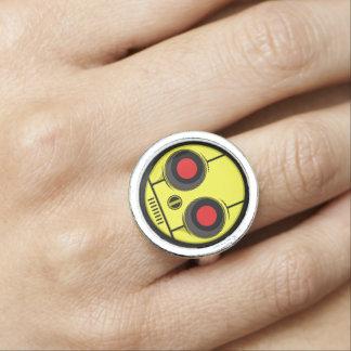 Bot Gezicht Foto Ring