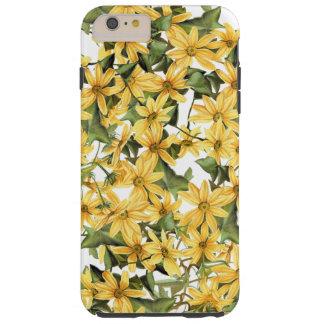 Botanische Floral iPhone 6 van Daisy Flowers Tough iPhone 6 Plus Hoesje