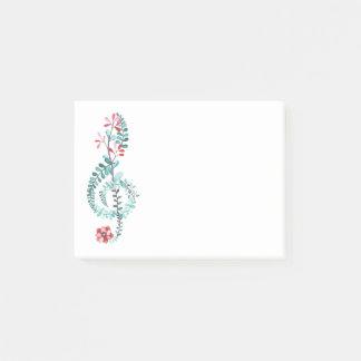 Botanische G-sleutel Post-it® Notes