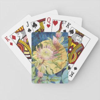 Botanische Speelkaarten - Protea Cynaroides
