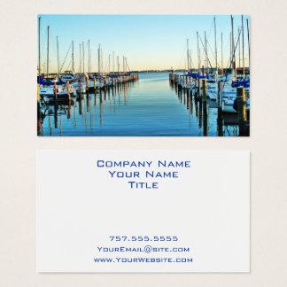 Boten bij de Jachthaven door Shirley Taylor Visitekaartjes