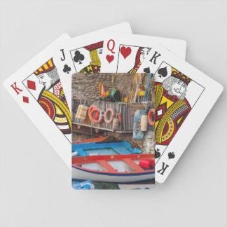Boten in Cinque Terre Italië Speelkaarten