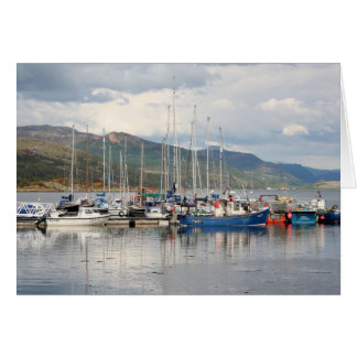 Boten in Kyleakin, Eiland van Skye, Schotland Briefkaarten 0