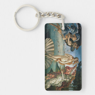Botticelli 2-Zijde Rechthoekige Acryl Sleutelhanger