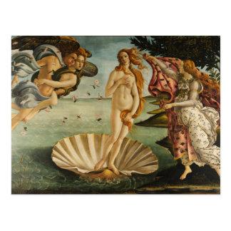 Botticelli de Geboorte van het Briefkaart van het