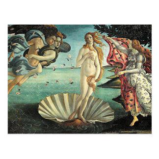 botticelli geboorte van venus briefkaart