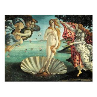 Botticelli - Geboorte van Venus Briefkaart