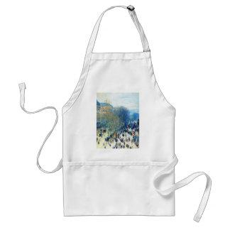 Boulevard des Capucines Claude Monet fijn art. Standaard Schort