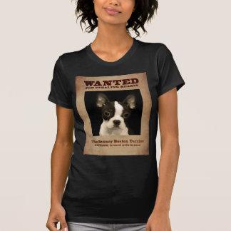 Bouncy Boston Terrier T Shirt