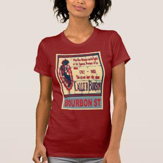 Bourbon St New Orleans T Shirt