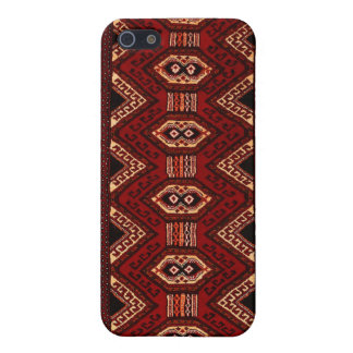 Bourgondië-gebrande iPhone5s Dekking van Kilim van iPhone 5 Cases