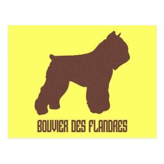 Bouvier des Flandres Briefkaart