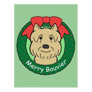 Bouvier Des Flandres Christmas Briefkaart