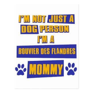 Bouvier des Flandres Mommy Briefkaart
