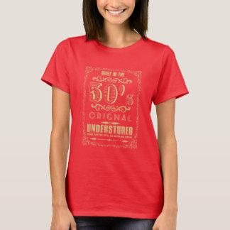 Bouw de jaren '50 Originele onder-Opslag in T Shirt