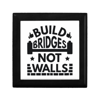 Bouw de Muren van Bruggen niet Decoratiedoosje