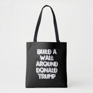 Bouw een Muur rond Donald Trump Bag Draagtas