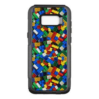 Bouw van de Bakstenen van de Bouw van Bouwstenen OtterBox Commuter Samsung Galaxy S8+ Hoesje