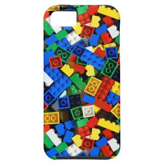 Bouw van de Bakstenen van de Bouw van Bouwstenen Tough iPhone 5 Hoesje