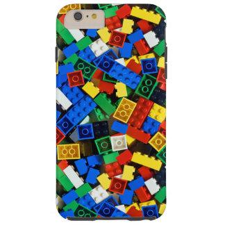 Bouw van de Bakstenen van de Bouw van Bouwstenen Tough iPhone 6 Plus Hoesje