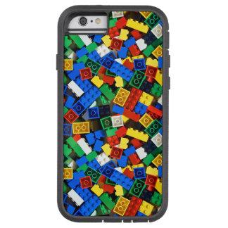 Bouw van de Bakstenen van de Bouw van Bouwstenen Tough Xtreme iPhone 6 Hoesje