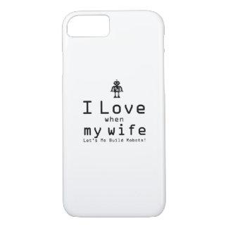 Bouwen me de Grappige Gift van de Ingenieur van de iPhone 8/7 Hoesje