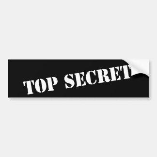 Bovenkant - geheime bumpersticker