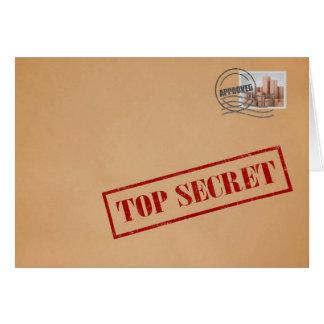 Bovenkant - het geheime Wenskaart van de Envelop