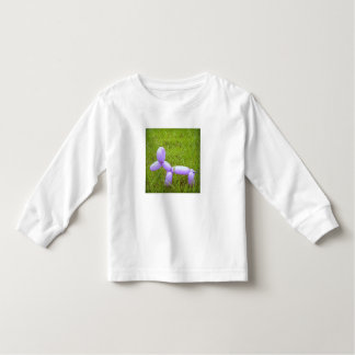 Bovenkant van het Sleeve van de Peuter van de Hond T-shirts