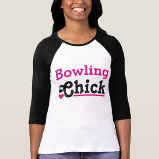 Bowling Chick T Shirt