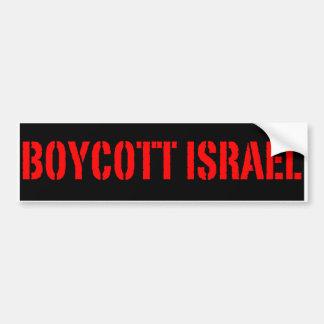 Boycot Israël - de Sticker van de Bumper Bumperstickers