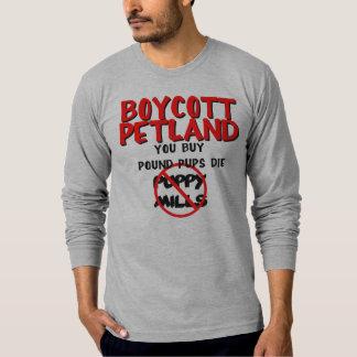Boycot Petland T Shirt