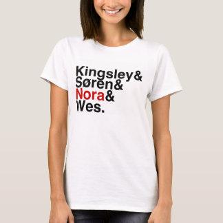 Boyfriend- Kingsley, Soren, Nora, Wes van het boek T Shirt